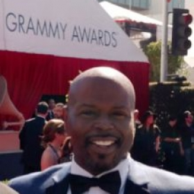 At the 2016 Grammy Awards in Los Angels,CA