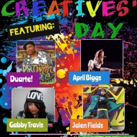 2016 -1st Annual Creatives Day - hosting music production workshops at a local elementary school
