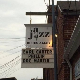 Performs at the legendary Blues Alley annually as a featured artist and multiple times as a sideman for international and local celebrities.