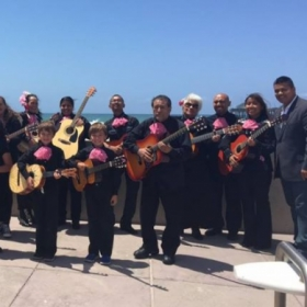 Guitarists in the City Heights Mariachi