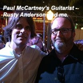 What a tasty player Rusty is.  And, he's got the best guitar sideman gig in rock and roll!