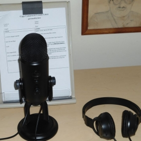 We have a seat at our microphone waiting for you now at TakeLessons!