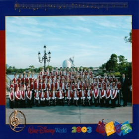 2003 Vandalia High School Band - Walt Disney World Performance Trip - Director: Brad Furlow