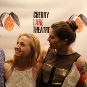 Opening night of Crashlight at the Cherry Lane Theatre, 2016