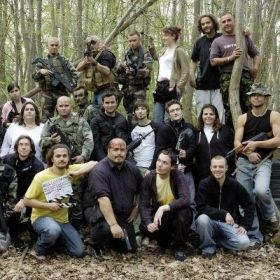 """Movie team for """"Mission Avortée"""", French short movie"""