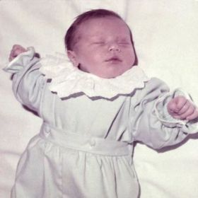Still looking at my photos? Ok: me as a baby. I was born Dec 4, 1984.