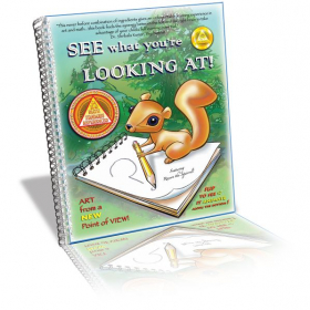 """Ruth Elliott's art textbook:  """"See What You're LOOKING AT!  More info here:  http://www.edudesigns.org/blog/"""