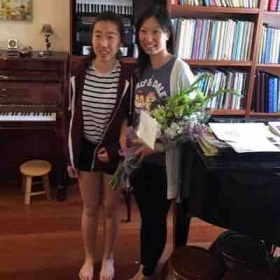 Emily passed her Advanced level piano and theory with Honor. Congratulations!