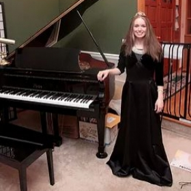 Picture of me after a successful recital!