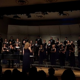 I am a part of Azusa Pacific Chamber Singers, a prestigious and internationally renowned group.