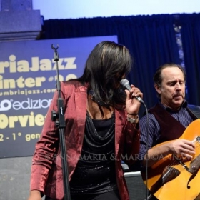 Performing the Umbria Jazz Festival with my wife and vocalist Kim Prevost -Solley