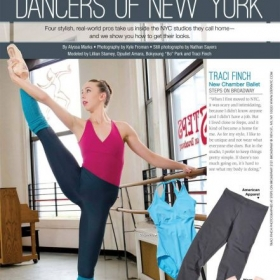 Me featured in Dance Spirit Magazine