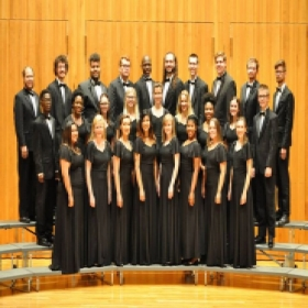 Roxanne and the Advanced Choral Ensemble, Camerata Singers, at Longwood University!