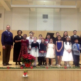 Studio Recital December 2013.