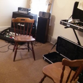 Expanded room for Guitar Lessons!