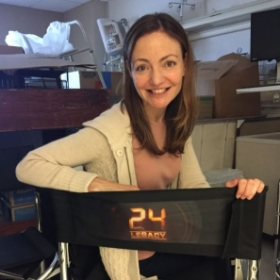 On the set of '24: Legacy'