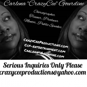 "Carlena ""CrazyCee"" Gourdine, one of the most notable female pioneers  in hip hop, owner of award winning training /production company"