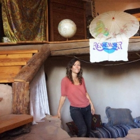 My last day in the NM off-grid hermitage. QiGong, Yoga, Meditation.