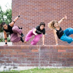 Ladies overcoming obstacles at the National Womens Gathering, an event I personally organize each year.