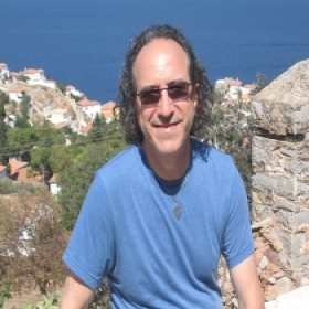 In my beloved Hydra Greece!