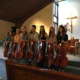 Cello studio recital
