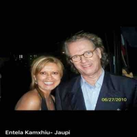 Entela Jaupi with Andre Rieu