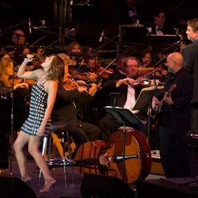 Performing with the Boston Pops along side the wonderful Katharine McPhee