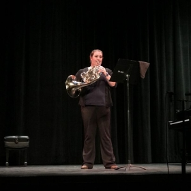Playing for a masterclass at UCLA