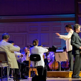 Anton is soloist with the Boston Pops at Boston Symphony Hall. Guest conductor Alan Gilbert of the New York Philharmonic.