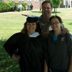 Graduating from Ohio University with a Masters of Art in French