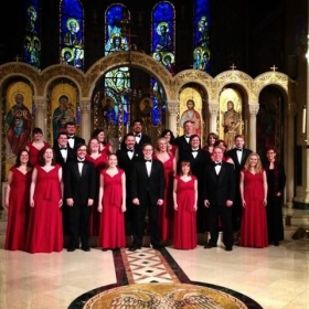 On tour in NYC with the ISU Madrigals! I sang a solo in this beautiful church!