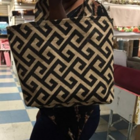 Tote bag by a beginner student