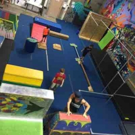 The parkour gym