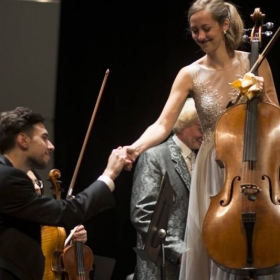 Before performing the Schumann Cello Concerto with the Miami Summer Music Festival Orchestra