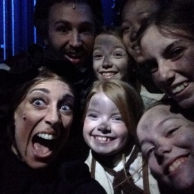 Some of the amazing children I worked with during ABTs production of Oliver!... Many who are my students!