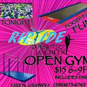 Open Gym every Friday Night!!!