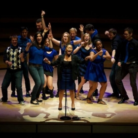Performing with Dooley Noted at Emory University circa 2013. So lucky to sing and work with these talented people!