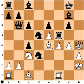NM Daniel Clancy has sacrificed a piece to generate an attack against my king. How should Black respond?