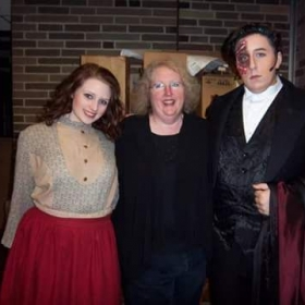My favorite students (2 of my 3 children) in Phantom of the Opera 2012.