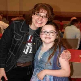 A shot of me with one of my students at the reception time at the Beatles recital. 🙂#valeriebaileymusic