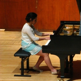 Senior recital at SMU!