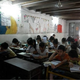 My summer camp in 2011. Teaching in rural china.