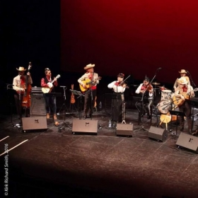 Performing with Sones de Mexico Ensemble, a 2 time Latin Grammy nominee group!