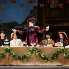 Lady Billows in Albert Herring by Benjamin Britten. Performed as part of the Brisbane Art Festival with Bruce Beresford as director.