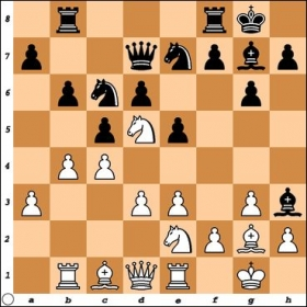 NM Aaron Balleisen had Black and just blundered with Bh3. I responded with Bh1. Why is this a blunder as well?