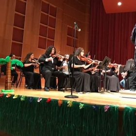 Conducting the Brazosport Community String Orchestra - May 2017