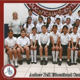 With my 5th grade class in Veracruz, Mexico.