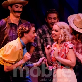 Performing as Patsy in the Gershwin musical Crazy For You