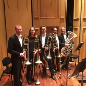 San Diego Symphony low brass on Mahler's Third Symphony