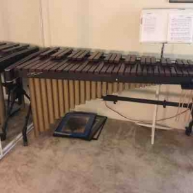 My marimba, which I provide for use in my lessons.